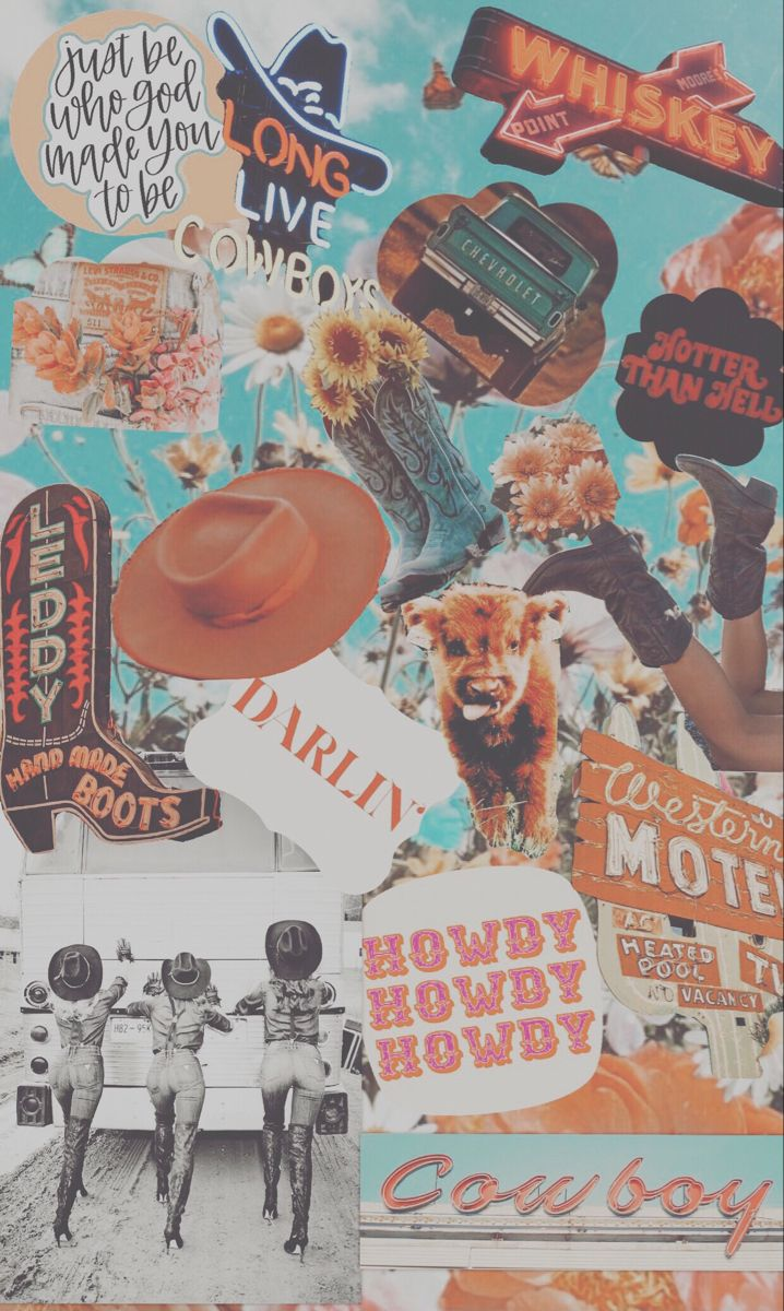 Western Vintage Background Made By Greciaa G Cow Print Wallpaper Cute Patterns Wallpaper Iphone Wallpaper Vintage