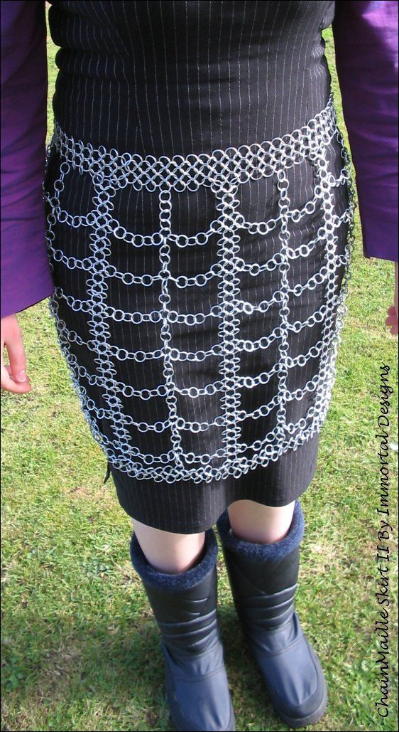 1000 Images About Fashion Chain Mail On Pinterest