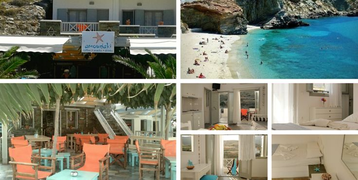 Amoudaki All Day Coffee Bar & Apartments Agali Beach Folegandros Island