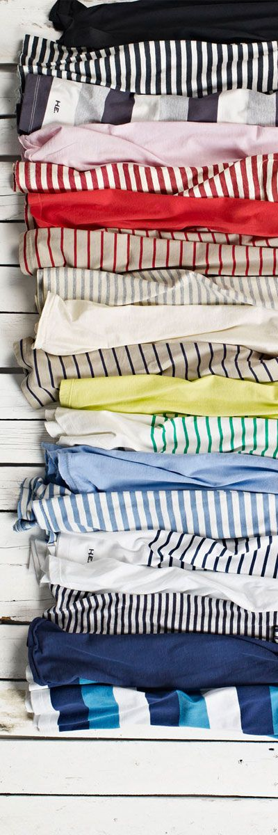 Lanzo has an obsession with striped shirts, it's basically all he ever wears. Propuesta de H.E. by Mango para Primavera 2013