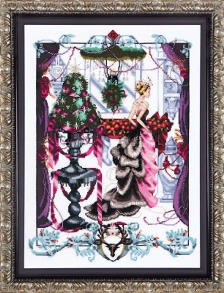 MIRABILIA Christmas in London Counted Cross Stitch Kit - MD136