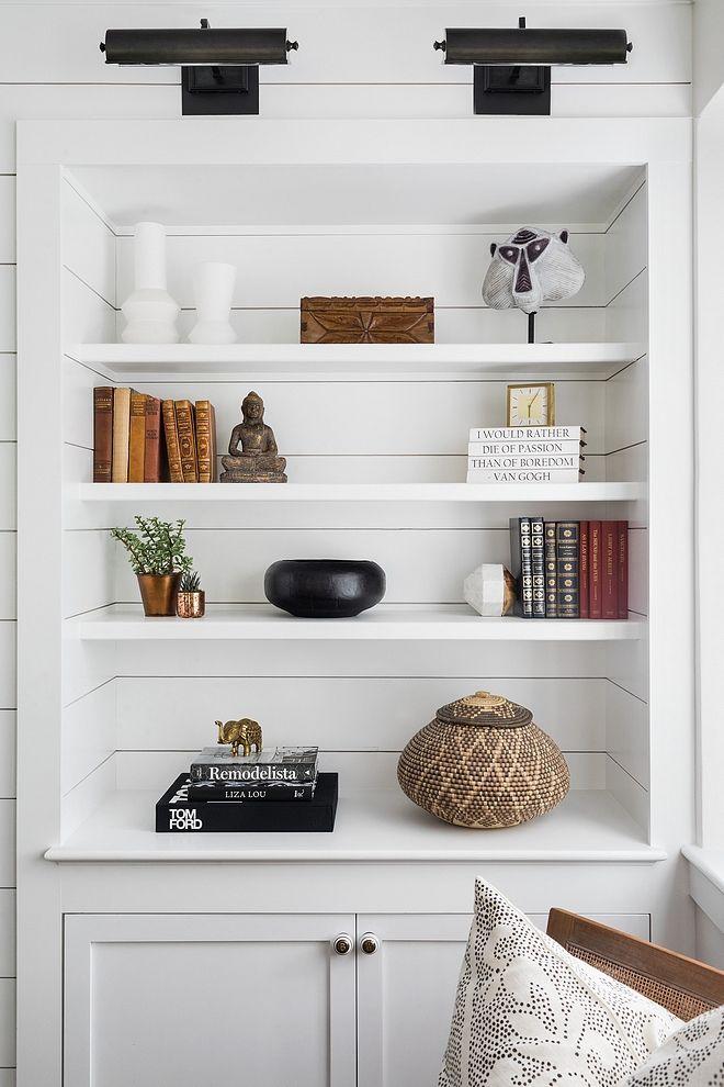 shiplap bookcase diy shiplap bookcase shiplap bookcase paint color rh pinterest com