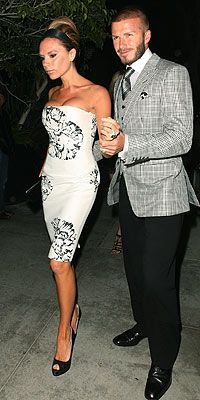 VICTORIA BECKHAM photo | David Beckham, Victoria Beckham---Great Couple ...always looking stylish!
