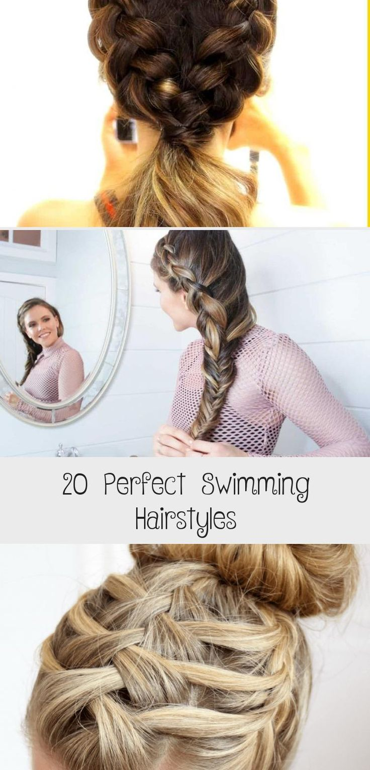 20 Perfect Swimming Hairstyles in 2020   Hair styles ...