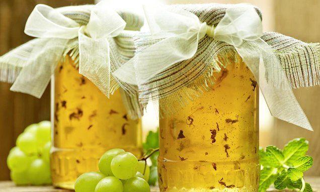 Galaretka winogronowa zmiętą #recipe Dr.Oetker Polska