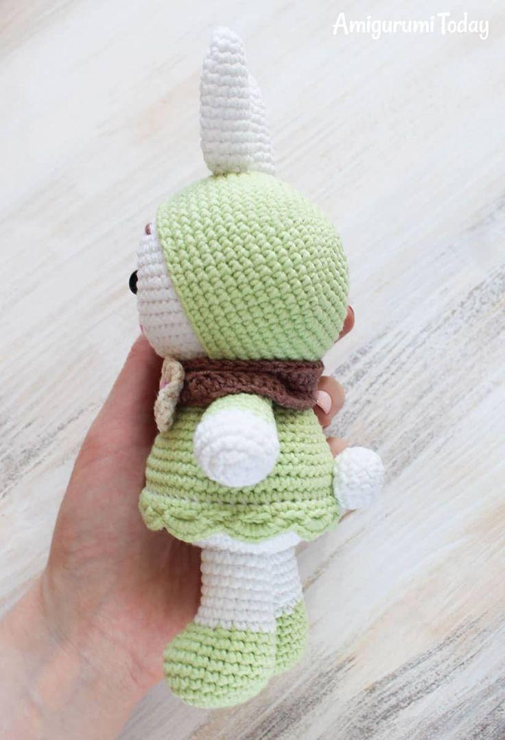 82 besten Amigurumi Bilder auf Pinterest | Amigurumi, Häkeltiere und ...