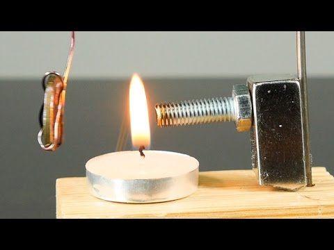 Péndulo de Curie. Experimento de Magnetismo y Calor. - YouTube