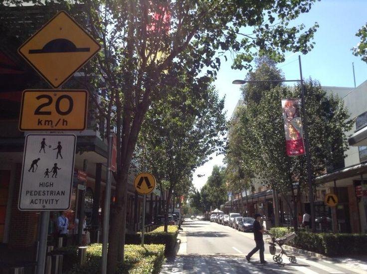 """Twitter / BrentToderian: """"High pedestrian activity."""" ..."""
