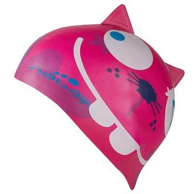 #gorro #natación #niña rosa - ¡Para divertirse en el agua! http://www.decathlon.es/gorro-de-natacion-silicona-chat-rosa-id_8285816.html