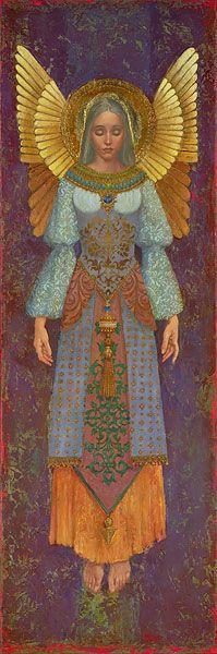 """James Christensen                                                                    """"Cecilia"""", 2005."""