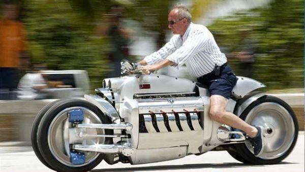 Dodge Tomahawk Motor Tercepat di Dunia