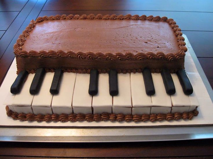 Cake Designs Piano : 17 Best images about Cakes. ..oh my! on Pinterest Cake ...