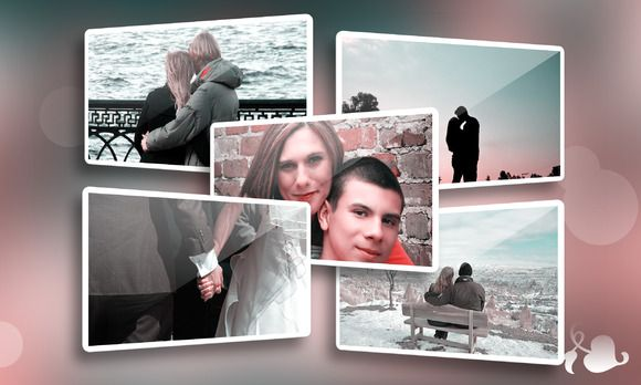 Memories - Photo frame template by Rometheme on Creative Market