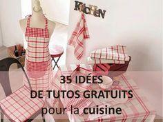 35 idées de tutos couture pour la cuisine