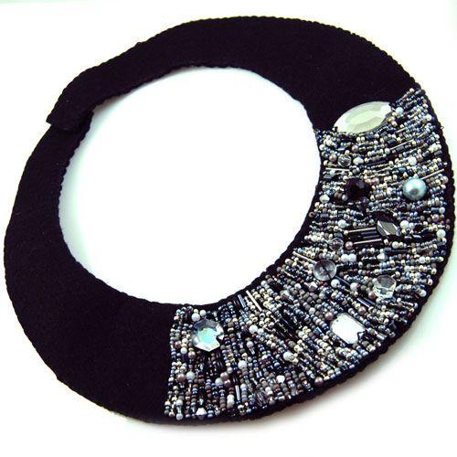 https://flic.kr/p/6NrdnM | BLINK BLINK | Handmade collar, made: 2008  * All rights of the design reserved