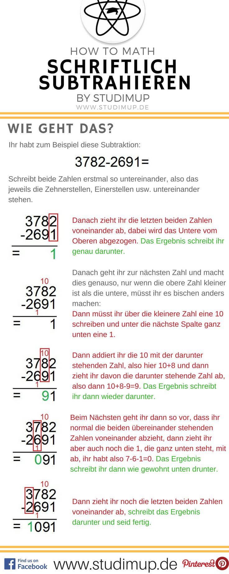 40 best Mathe images on Pinterest | Cheat sheets, Learn german and ...