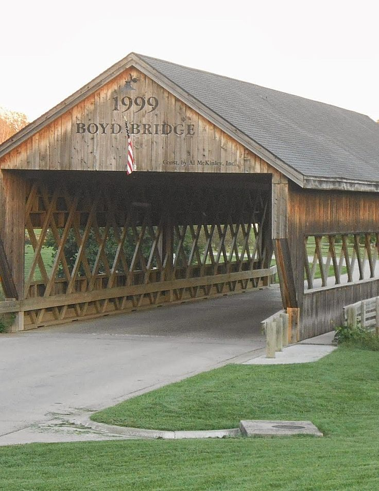 Covered Bridge - Liberty, Missouri