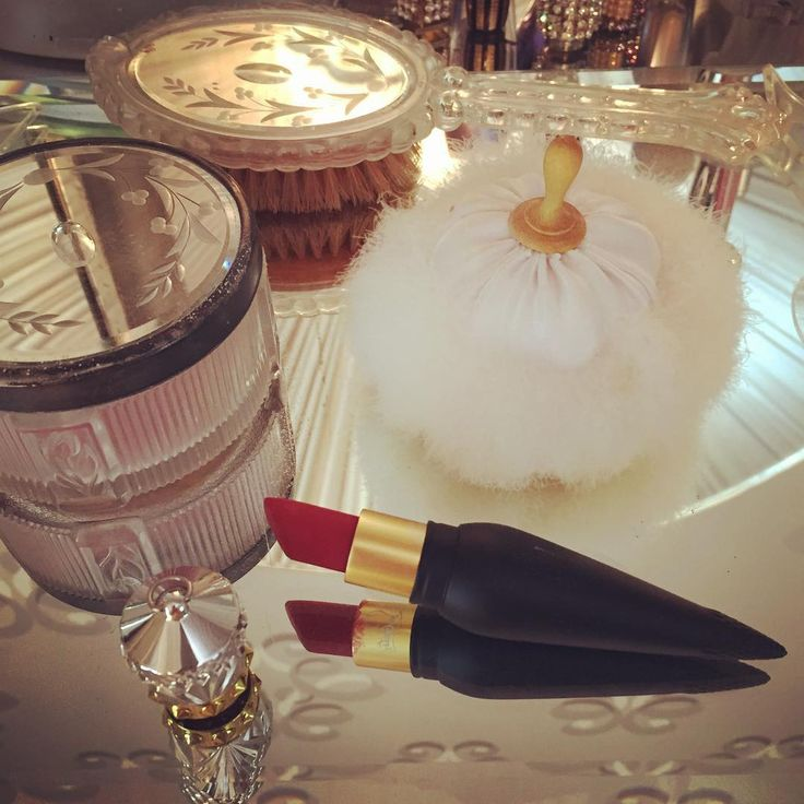 Beauty routine essentials. OMG . This is the best lipstick i have ever used. I love you #christian#louboutin#lipstick