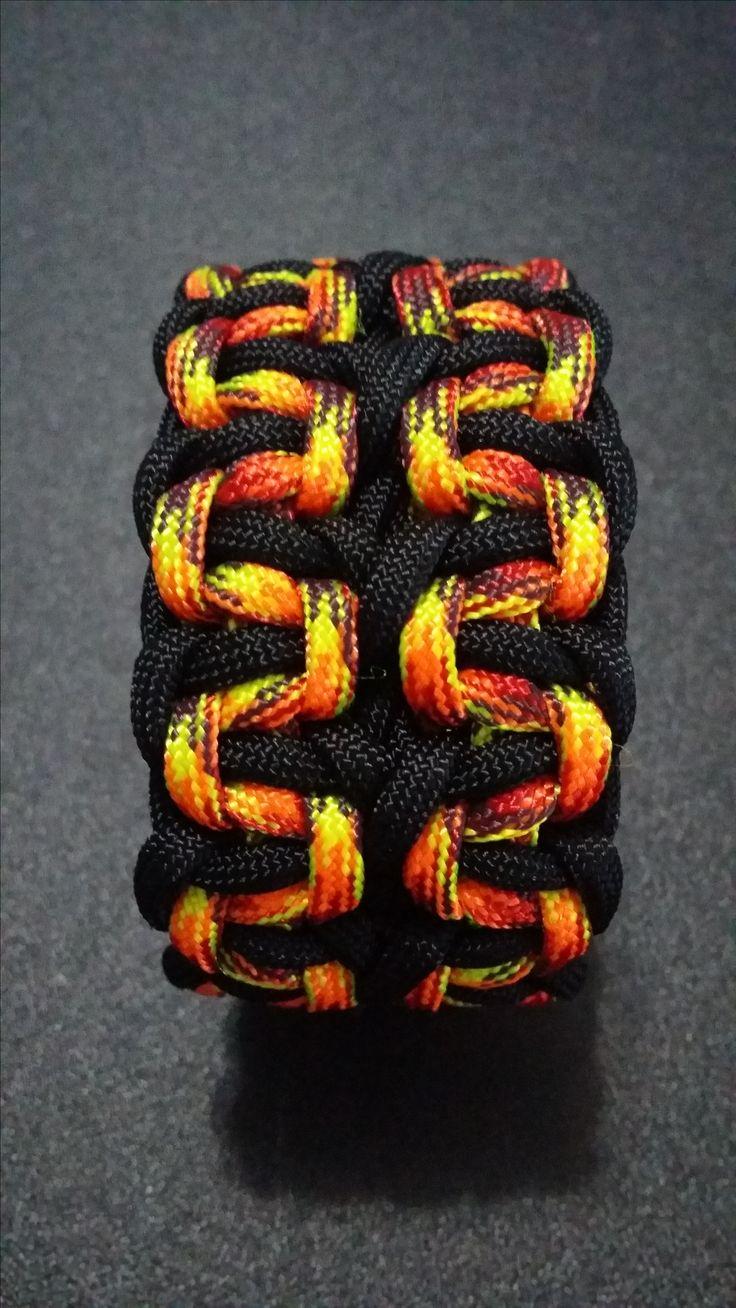 Basket Weave Paracord Bracelet Tutorial : Best images about paracord tutorial on