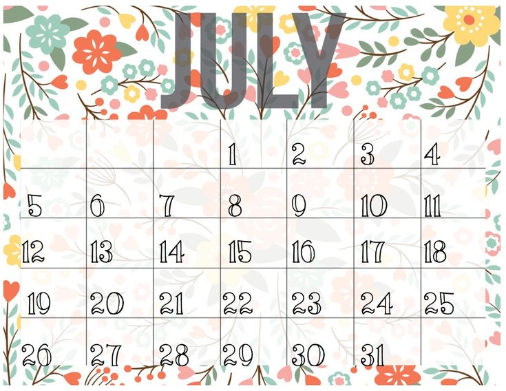 The 25+ best July calendar 2016 printable ideas on Pinterest - daily calendar printable