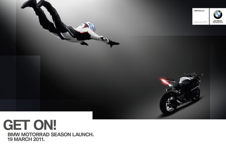Get on! BMW Motorrad Season Launch campaign, 2011. Photography by Rankin.