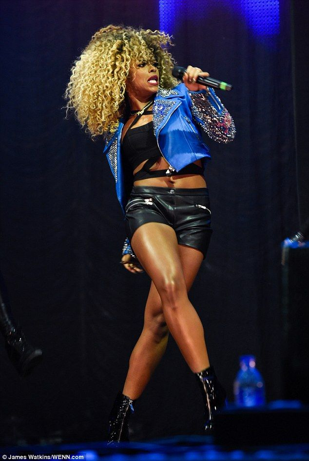 Dare to bare: Fleur East rocked yet another risque look when she took to the stage at the ...
