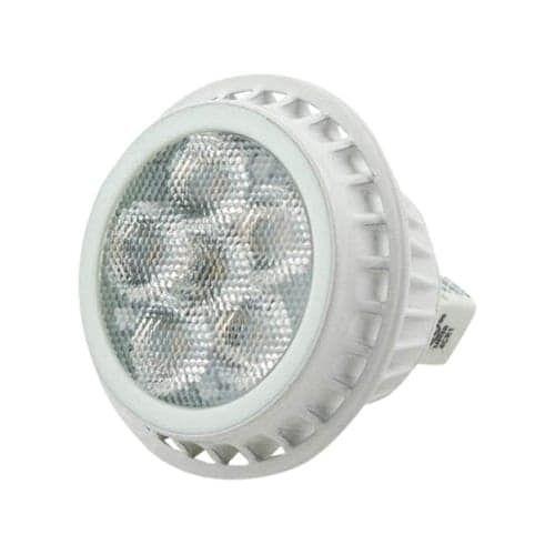 TCP LED712VMR16V30KFL Single MR Series 7 Watt 2.5 Tall 3000K MR16 LED Bulb with 40? Beam Spread and GU5.3 Base, Clear