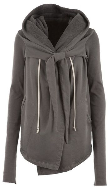 Open Front Cardigan Rick Owens