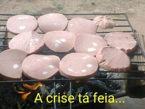 A crise atingiu o Brasil e também o seu churrasco. | 20 imagens que representam a sua crise financeira