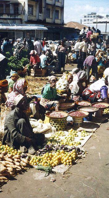Tanzania, Dar es Salaam Market