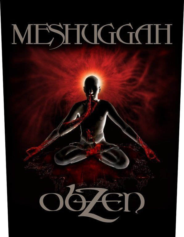 Meshuggah Obzen Back Patch Back Patch Heavy Metal Patches