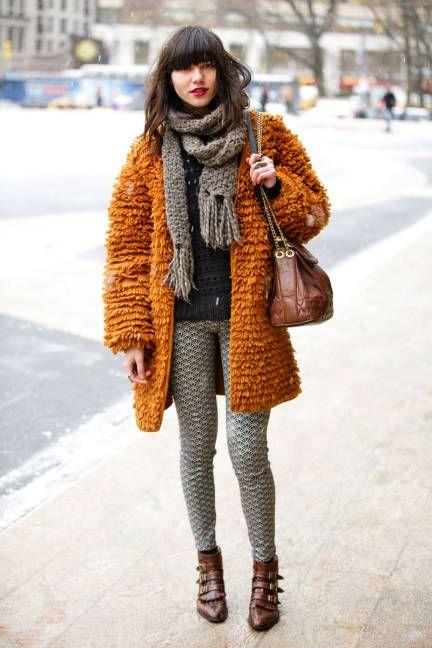 Style - NYFW Street Style Fall 2013 - ELLE