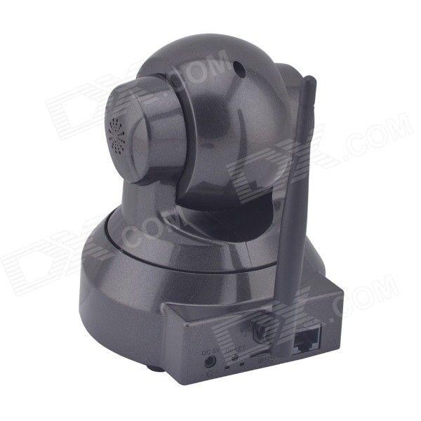 VSTARCAM C7837WIP 720P IP Camera w/10-IR-LED/Wi-Fi/TF -Black (EU Plug)