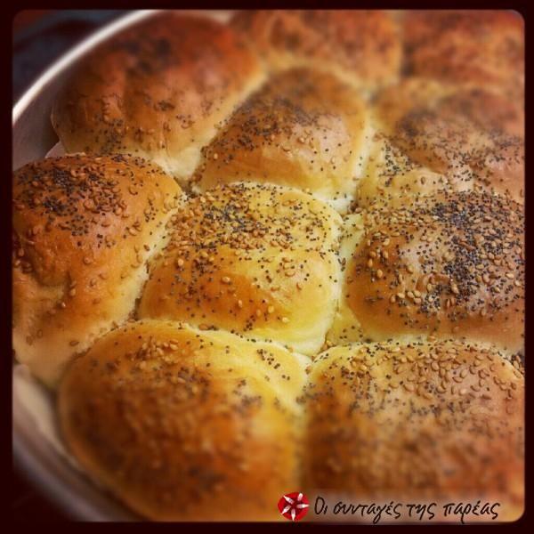 Τέλεια σπιτικά ψωμάκια #sintagespareas
