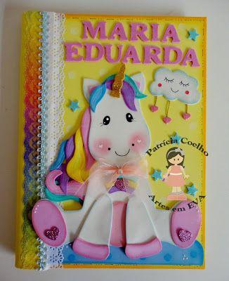 Lembrancinhas para aniversários, utilidades, capas de cadernos e muito mais... tudo com EVA!!!!