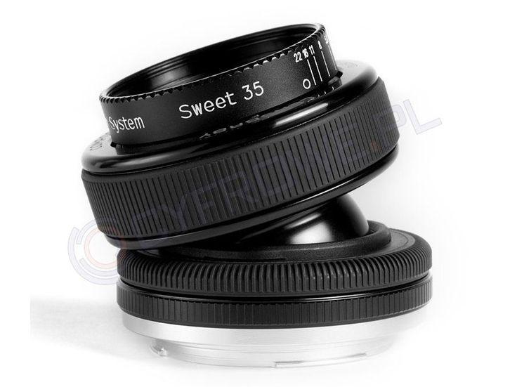 Obiektyw Lensbaby Composer Pro Sweet 35 Optic / Nikon