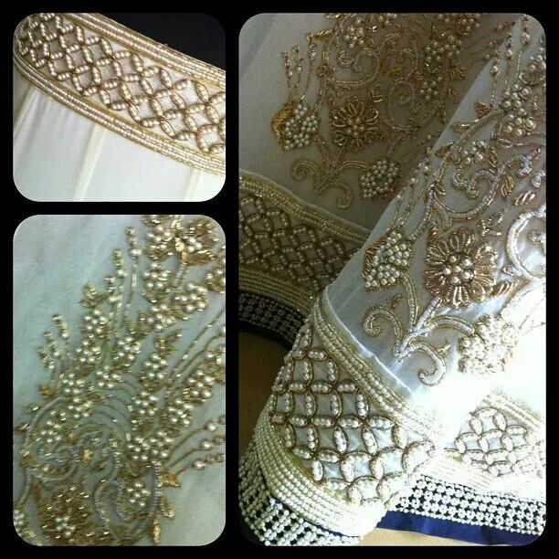 Pearl Work | Embroidery | Pinterest | Awesome Work Looks ...