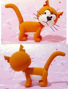 Tutoriel : Comment faire Azraël, le chat de Gargamel (Schtroumpfs) en Fimo