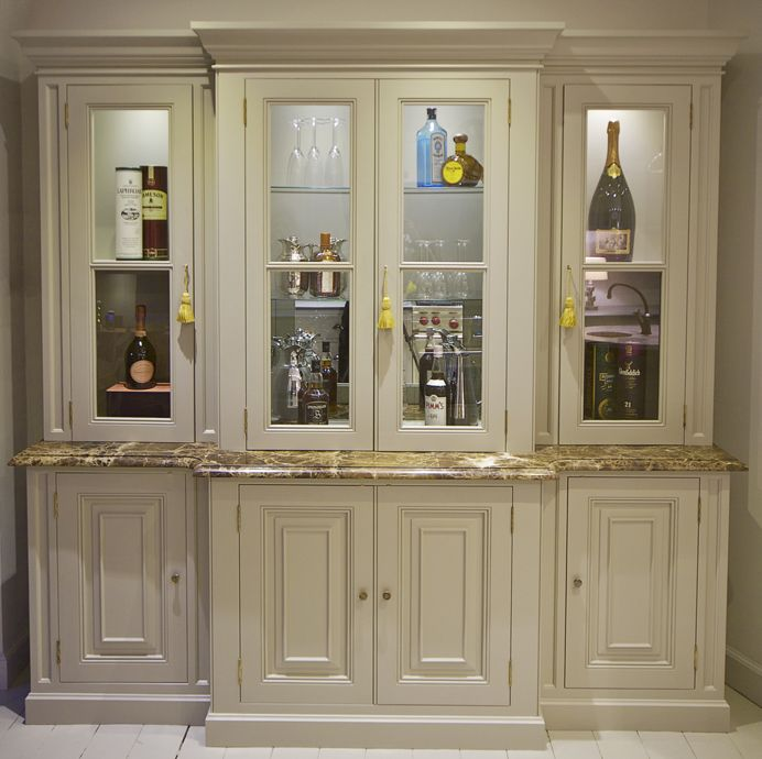 Charlie Kingham Bespoke Glass Display Cabinet Traditional