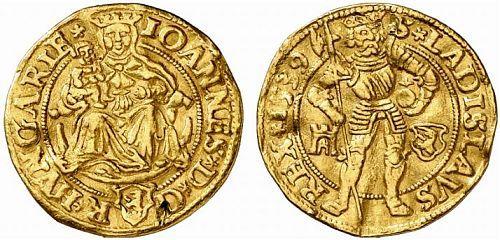 Transylvania, ducat 1539