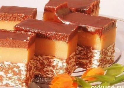 Вкусный, несложный и красивый десерт