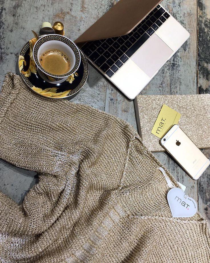 "The Midas Touch • Raise your golden fashion profile! (thank you Cheryl for the inspiration!!) // Το ""χρυσό άγγιγμα"" του Μίδα είναι η λαμπερή τάση του καλοκαιριού! [κωδικός: 651.5012] #matfashion #SpringSummer2016 #collection #gold #inspiration #glam #golden #fashion #trend #chic"