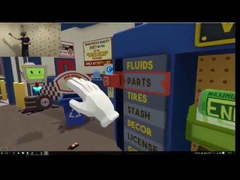 Htc Vive VR Gameplay | (Job Simulator) The Mechanic