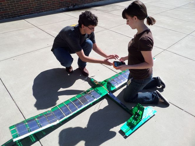 How to build your own solar-powered plane