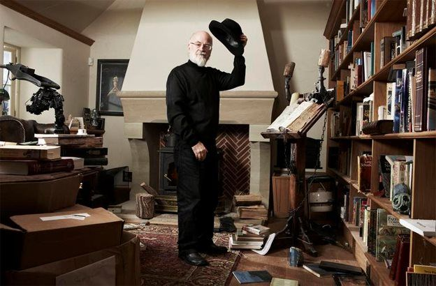 Sir Terry Pratchett. RIP. Thank you for sharing your genius with the world. You will be missed.
