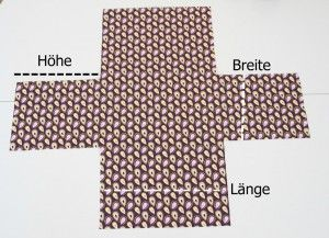 Korb nähen - Anleitung • Pech & Schwefel