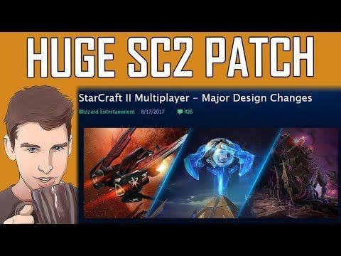 Tea Time 101 - HUGE STARCRAFT 2 PATCH!!! #games #Starcraft #Starcraft2 #SC2 #gamingnews #blizzard