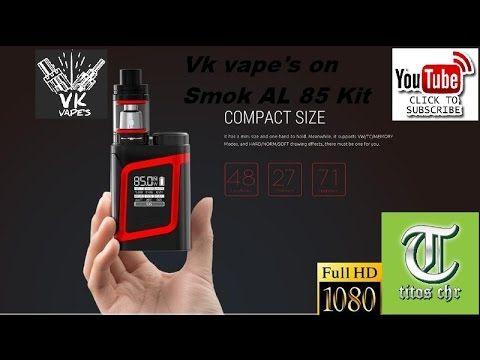 Vk vape's review on Smok AL85 Kit (Greek)