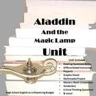 This Unit uses the free eText for the story Aladdin and the Magic Lamp. It includes projects and writing assignments that explore ideas related to the story.  Also includes reading questions, critical thinking questions and a short answer test.  $