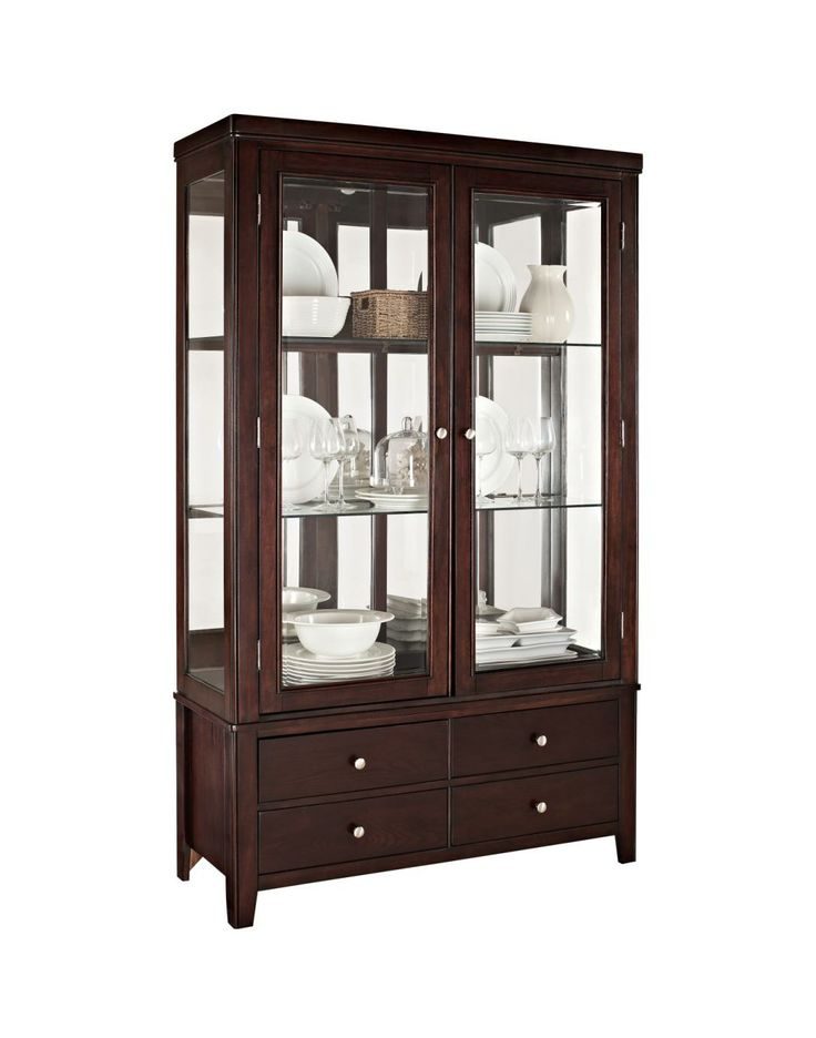 New Value City Furniture Curio Cabinets